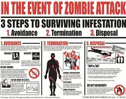 Zombie Survival Chart Zombie Apocalypse Lessons Tes Teach