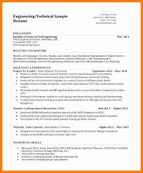 Cv Samples For Engineering Students 5 Cv Template Engineering Student Theorynpractice