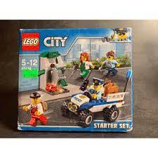 LEGO CITY 60136 Bộ Cảnh Sát Khởi Đầu Đồ chơi xếp hình cho bé Police Starter  Set