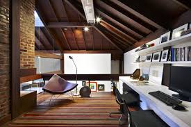 contemporary attic bedroom ideas displaying cool. The Perfect Office - Heng Balance Lamp, Mission One Computer And Ideas Contemporary Attic Bedroom Displaying Cool