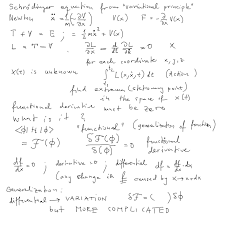 atomic physics part phys261 derivation of schrodinger equation