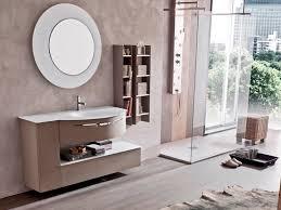Wandmontiertes Regal Modern Holz Für Badezimmer Star Round