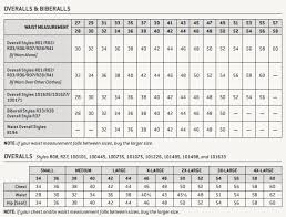 Carhartt Overall Size Chart Carhartt Duck Double Front Bib Overall