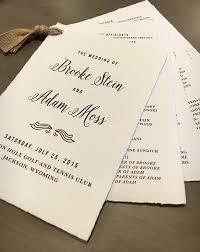 Wedding Ceremony Program Cover 15 Unique Wedding Program Ideas For Your Ceremony Mywedding