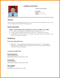 Sample Resume Format Simple Pdf Resume Samples Resume Samples Or Chic Sample Resume Format For