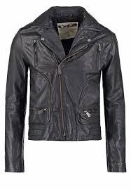 one green elephant leather jacket brand new large
