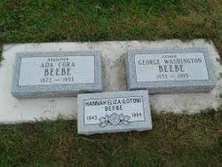 Ada Cora Beebe (1872-1933) - Find A Grave Memorial