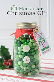 Decorating Mason Jars For Gifts Elf Mason Jar Christmas Gifts On The Polka Dot Chair 73