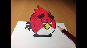 How To Draw A Angry Bird Superhero - Vtwctr