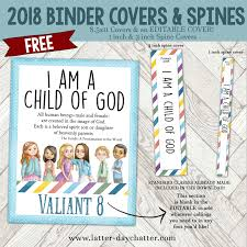 Free Editable Binder Covers And Spines Latter Day Chatter 2018 Editable Binder Covers And Spines