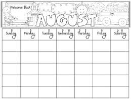 mothly calendar free blank monthly calendars editable by primary graffiti tpt