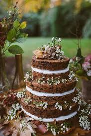 Woodland Autumnal Boho Wedding Ideas Cakes And Frosting Fruit