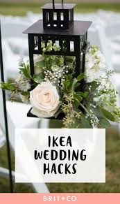 These IKEA #Wedding Hacks Will Save You Some Serious Dough #Re-pinned from