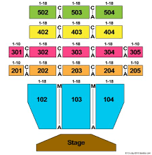 Etess Arena Seating Chart View Mark G Etess Arena At Hard Rock Hotel Casino Tickets And