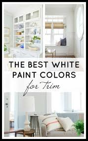 Donu0027t Know Which Shade Of White To Paint Your Trim? These Are The