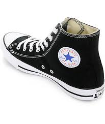 converse all star black. converse chuck taylor all star black high top shoes