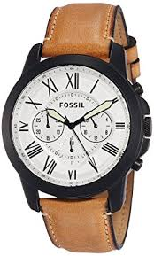 buy fossil end of season grant analog white dial men s watch fossil end of season grant analog white dial men s watch fs5087