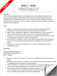 Industrial Engineer Resume Samples - April.onthemarch.co