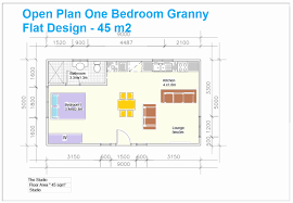 one bedroom house plans south africa luxury granny flat building one bedroom open floor small cottage