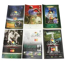six arnold palmer invitational posters 2010 2016 2016 2016 2016