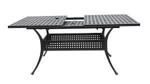 cast aluminum patio tables outdoor