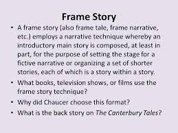 3 frame story