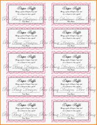 diaper raffle tickets template info printable raffle tickets printable diaper raffle tickets