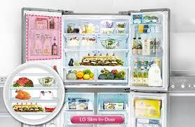 refrigerator good guys. lg gf-5d712sl 712l french door refrigerator at the good guys s