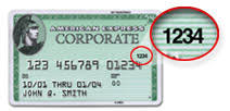 If the customer cannot provide the correct number, the transaction may be fraudulent. Credit Card Verification Number