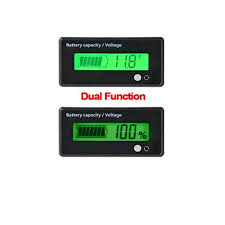 LCD Digital <b>Battery Capacity</b> Monitor,DC 8-63V Lithium <b>Battery</b> ...