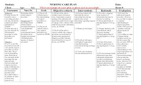 Sample Care Plan Mobile Discoveries