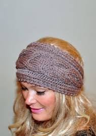 Knit Ear Warmer Pattern Amazing Free Knitted Headband With Flower PLEASE NOTE I AM NOT A