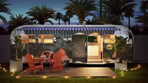1950s airstream trailer hotel paseo