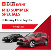 Hours may change under current circumstances New And Used Toyota Dealer San Diego Ca Kearny Mesa Toyota