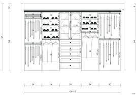 closet bar height clothes standard coat rack