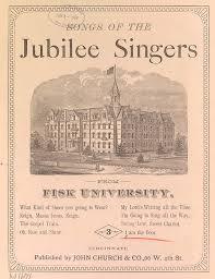 fisk jubilee singers rise shine. image caption follows fisk jubilee singers rise shine