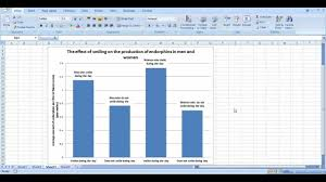 how to create graphs in excel how to make a bar graph in excel scientific data youtube