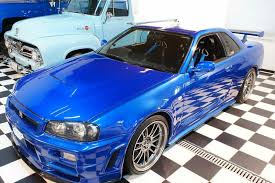 nissan skyline fast and furious 6. paul walkeru0027s fast u0026 furious r34 nissan skyline gtr front quarter2 and 6 c