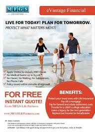 Online Life Insurance Quotes No Medical Exam New Instant Term Quote With Or Without Medical Exam MFGS Life
