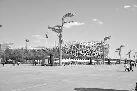 白黒北京の鳥の巣イメージ写真 Id 500385887prf画像フォーマットjpgjp