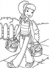 Holly Hobbie Free Printable Coloring Pages
