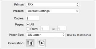 How To Fax From Mac Sending Faxes Using The Fax Utility Mac