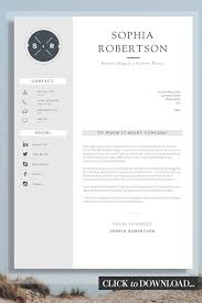 Creative Cover Letter Template Creative Resume Template Teacher Resume Creative Cv