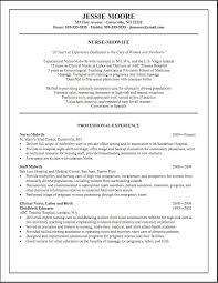 Labor And Delivery Nurse Resume Inspirational Experienced Nurse