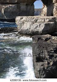 Bluehole Stock Chart The Azure Window And Blue Hole Stock Photography K2280135