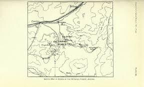 file archeological field work in northeastern arizona the museum Map Northeastern Arizona file archeological field work in northeastern arizona the museum gates expedition of 1901 map northeast arizona