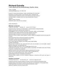 Mechanical Helper Resume 100 Pipefitter Helper Resume Pipefitter Helper  Advertise