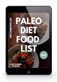 paleo t food list
