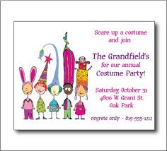costume party invites costume party invitation sooboo on artfire