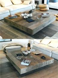 white square coffee table square living room tables wooden handmade square coffee table wood living room white square coffee table